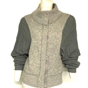 Free people grey cardigan